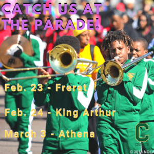 Crocker Parade Schedule