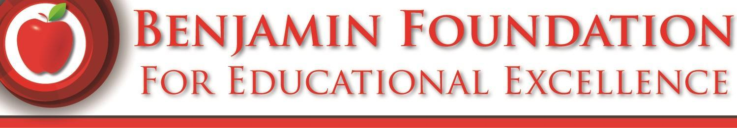 Benjamin Foundation For Educational Excellence