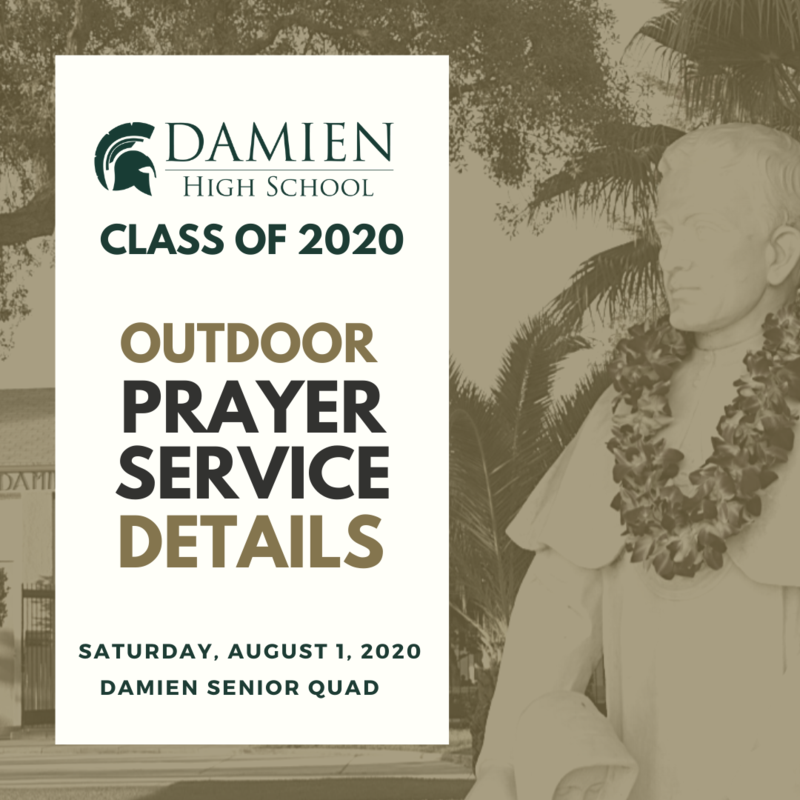 Class of 2020 Prayer Service Details Featured Photo