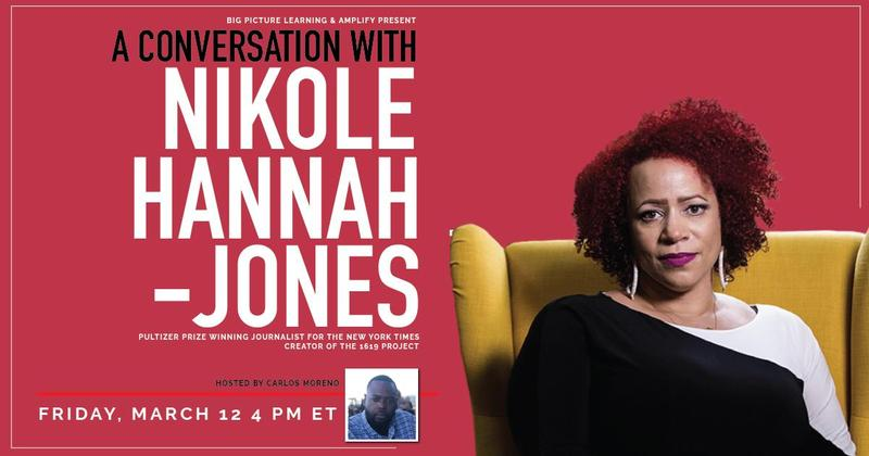 Join us for a conversation with Nikole Hannah-Jones (Friday, March 12 at 4 PM ET) Featured Photo
