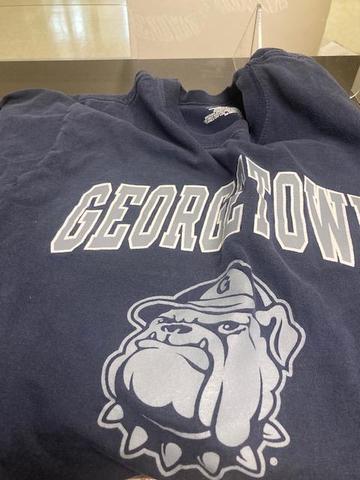 Georgetown T-shirt found