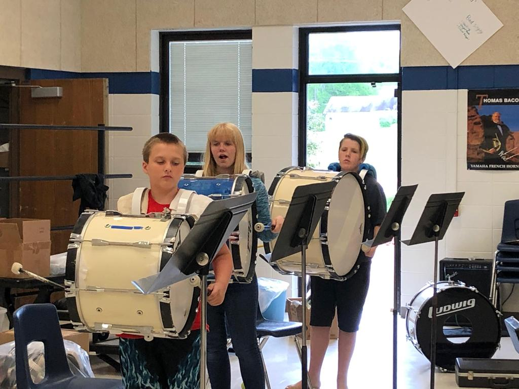 Bass Drums - concentration