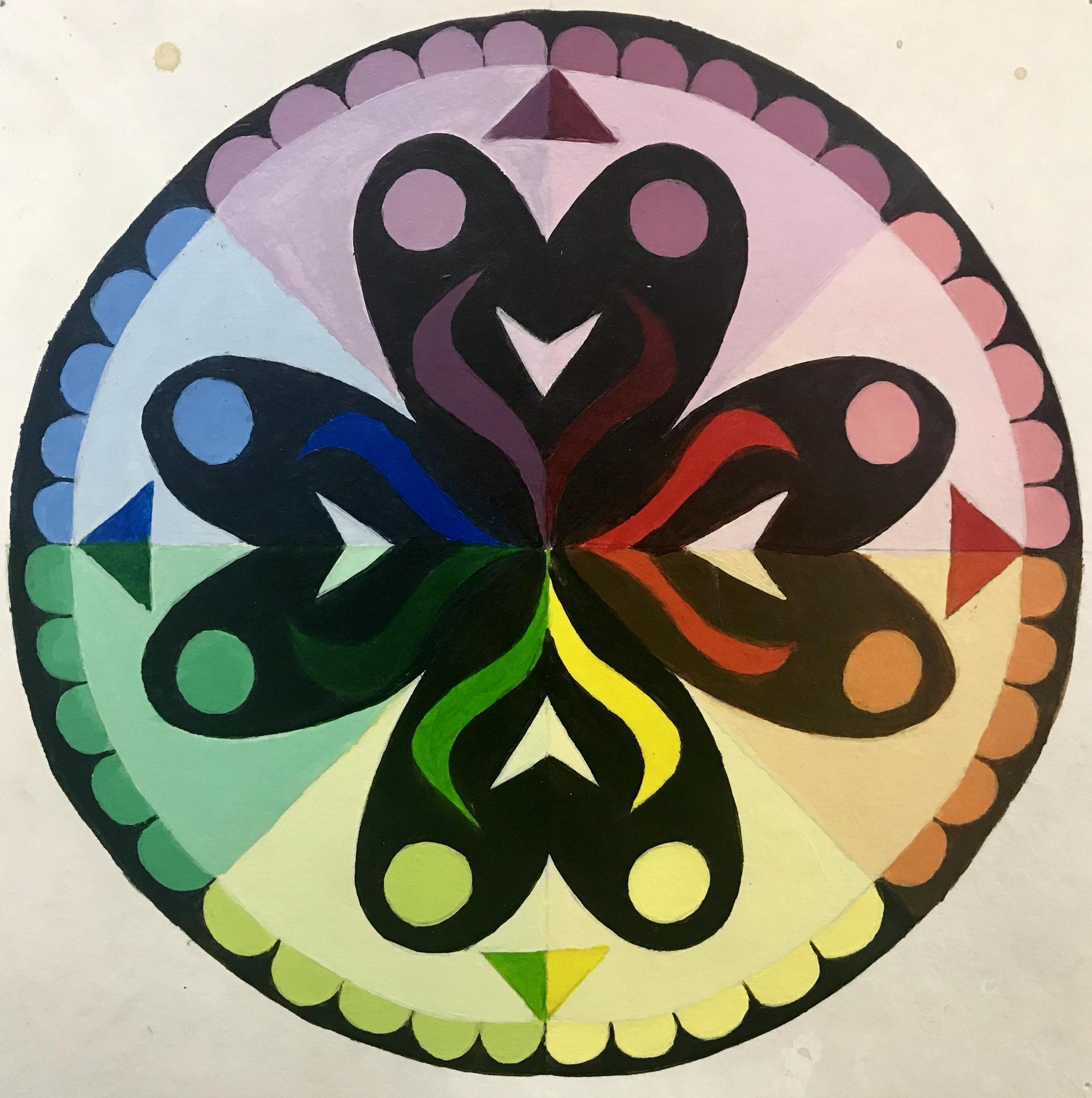 Mandala Color Wheel