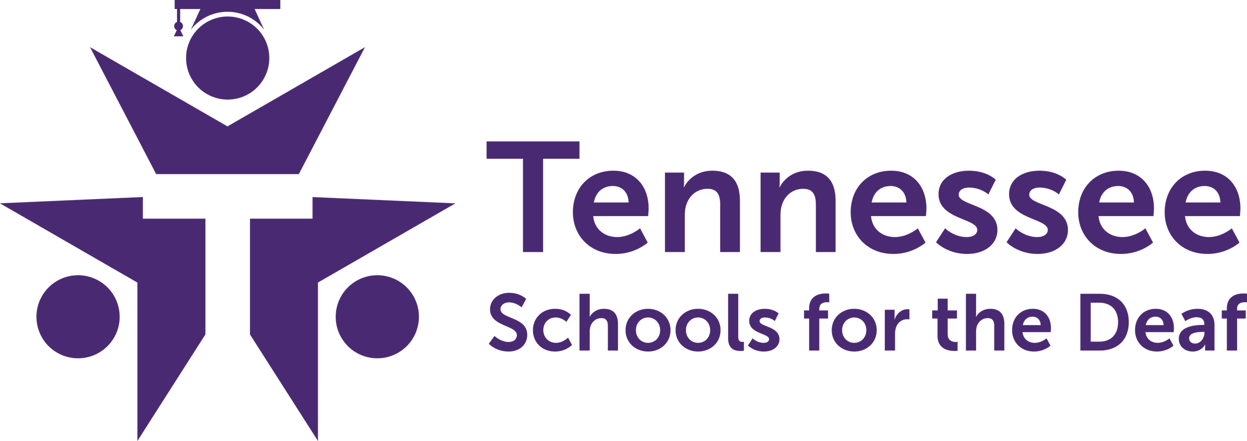 Tennessee Schools for the Deaf Logo