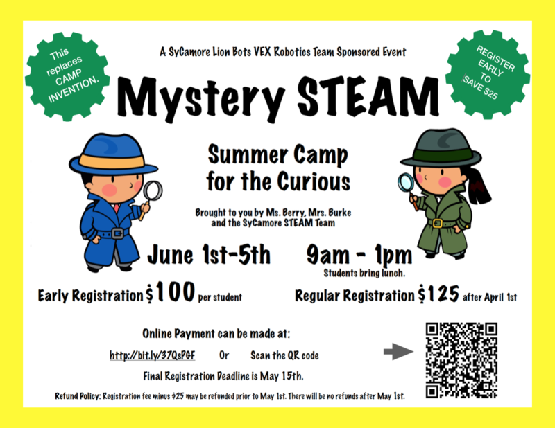 Mystery STEAM -- Summer Camp for the Curious Featured Photo