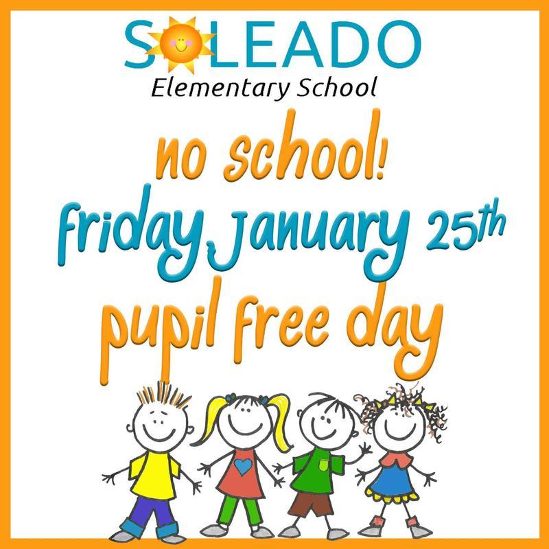 Pupil Free Day - NO SCHOOL Thumbnail Image