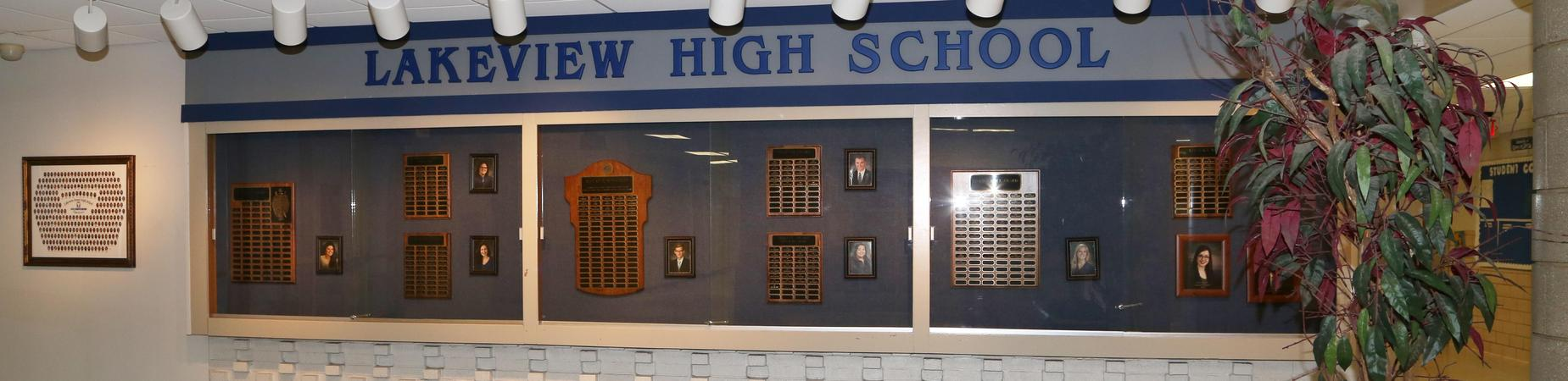 LHS wall of fame