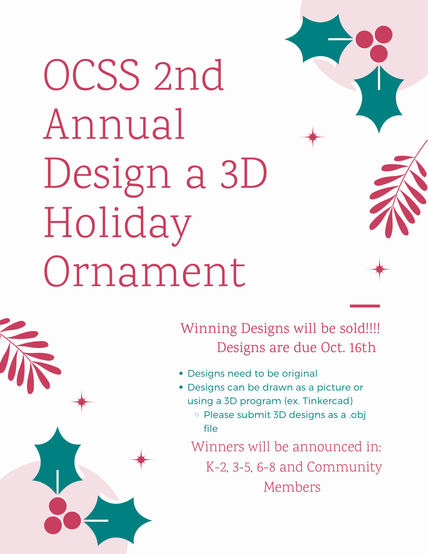 Ornament flyer