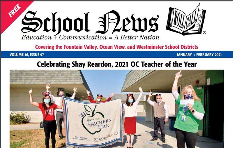 WSD Teacher of the Year Shay Reardon