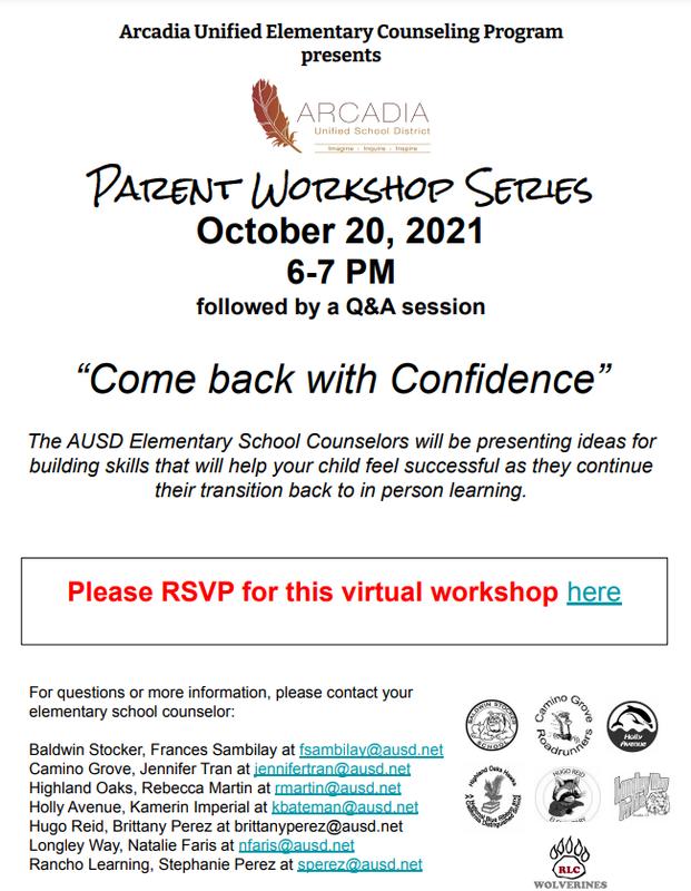 Workshop Flyer October