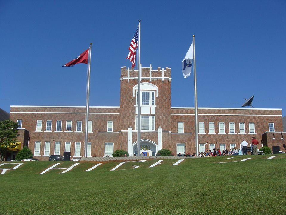 Front of Sweetwater High school
