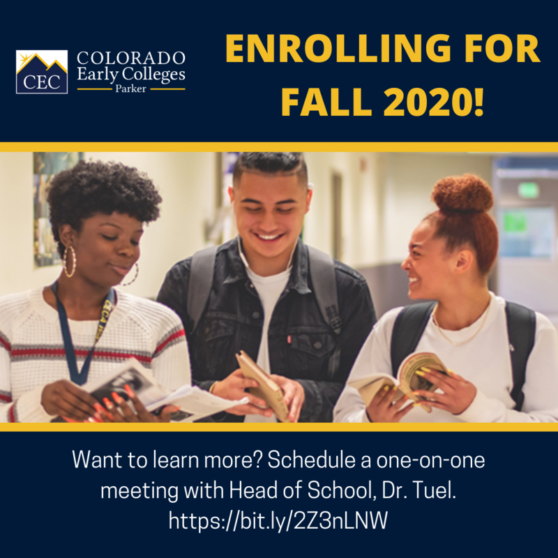 Enrolling for Fall 2020! Featured Photo