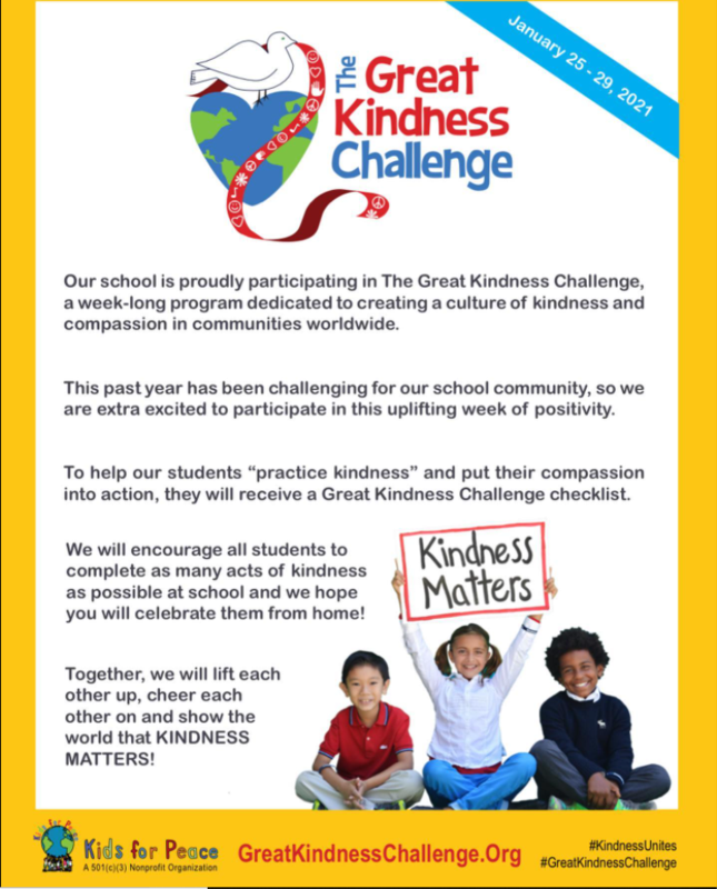 Great kindness Challenge Featured Photo