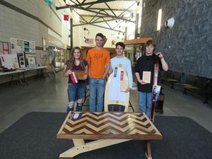 TKHS MITES projects earned regional and state honors.
