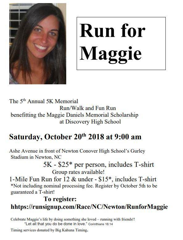 5th Annual Run for Maggie