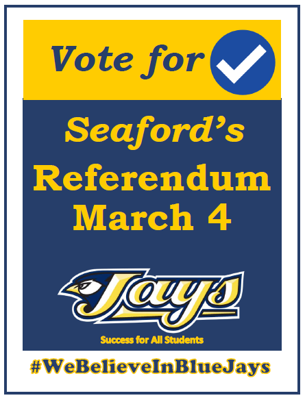 Seaford referendum flyer image