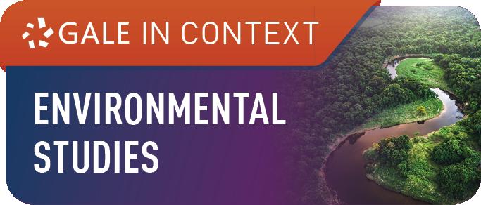 Gale GREENR / Environmental Studies