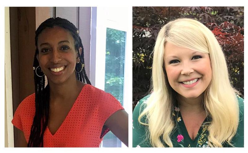 pictures of the new school counselor and school nurse