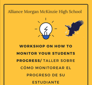Monitoring Progress Workshop