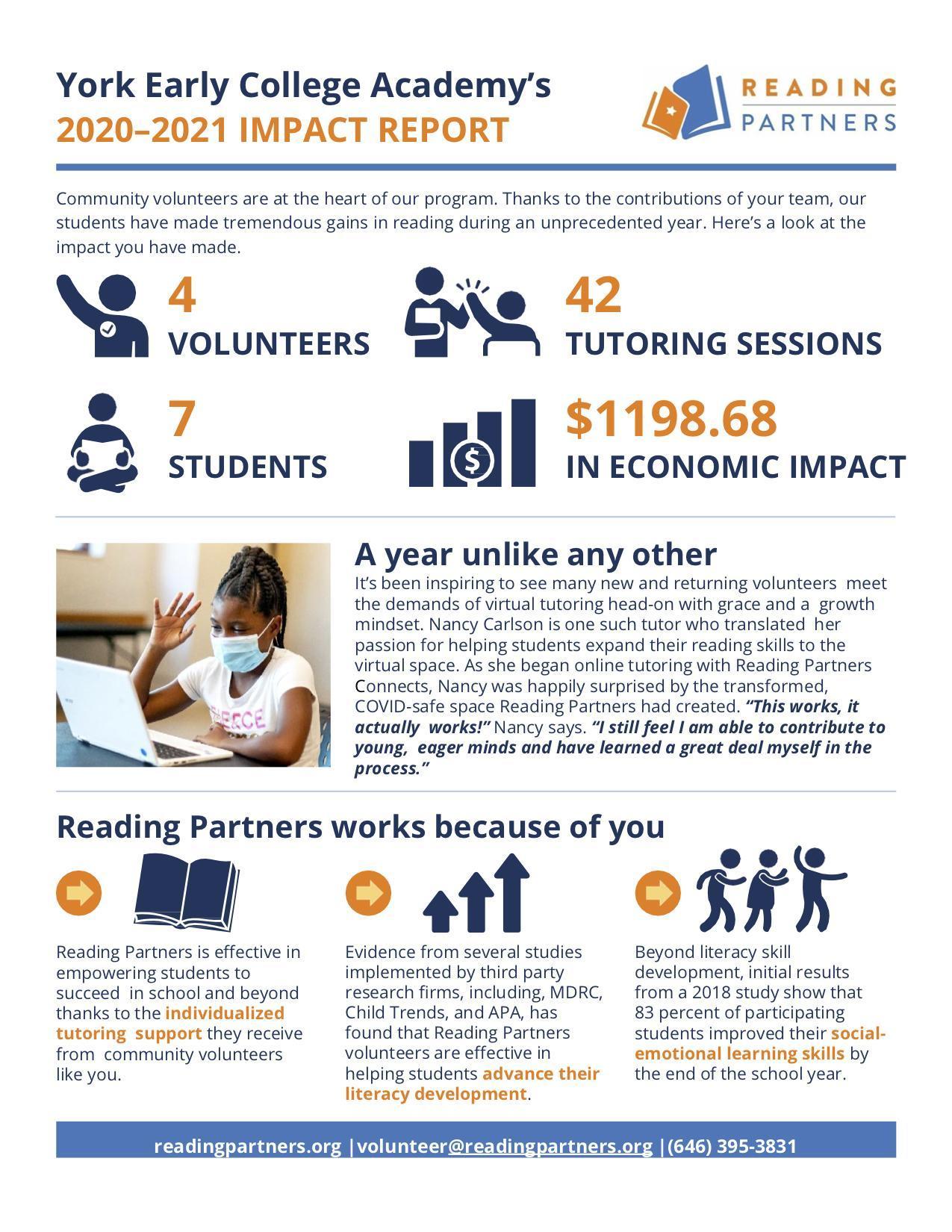 Reading Partners Impact Report