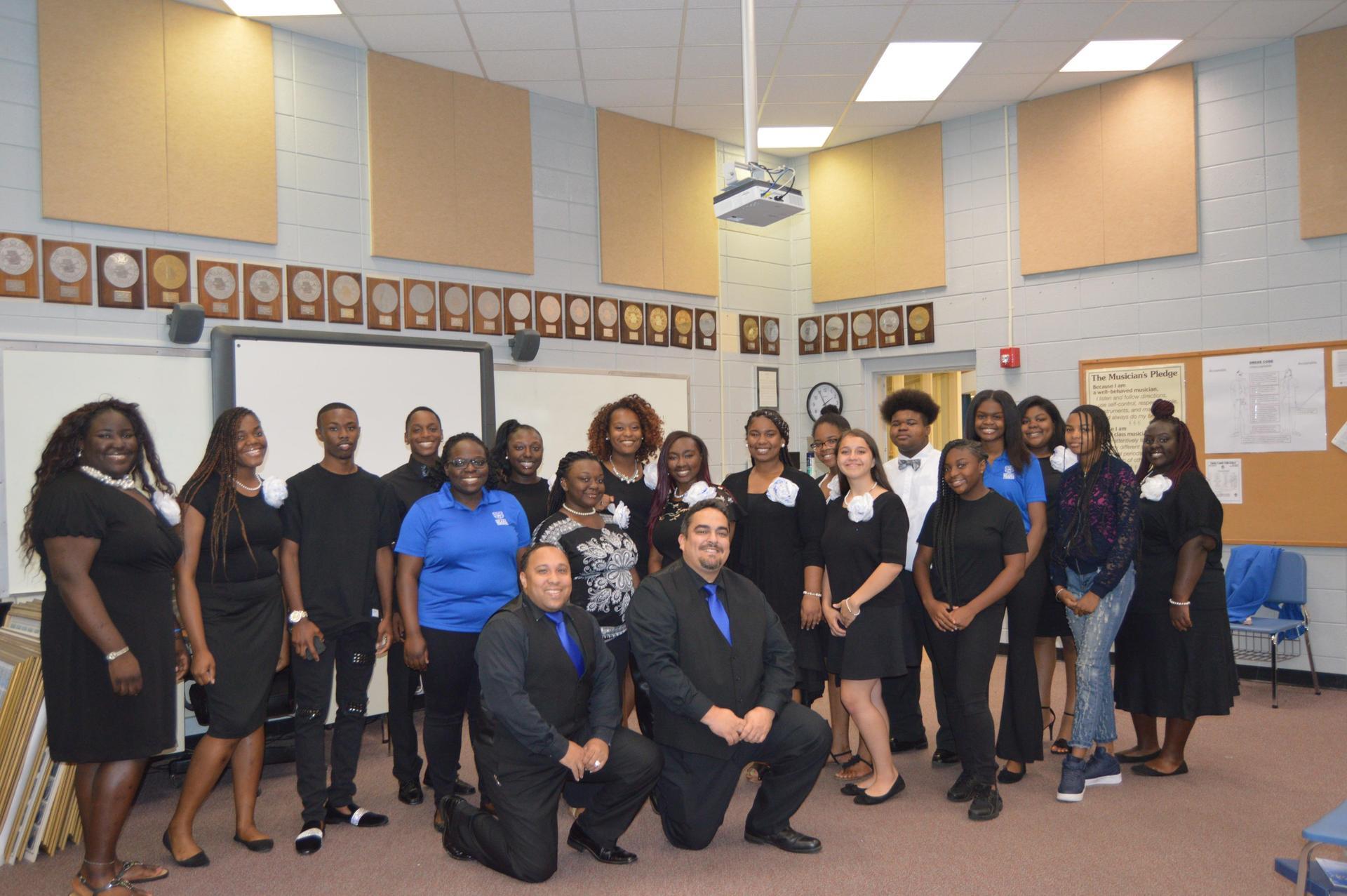 Gospel Choir Family!