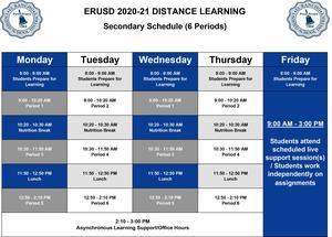 6 Period Schedule