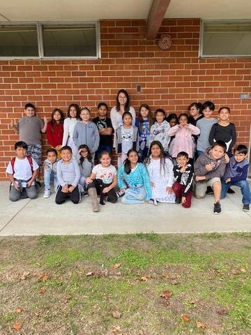 Ms. Park's 3rd Gr. Class at Allison