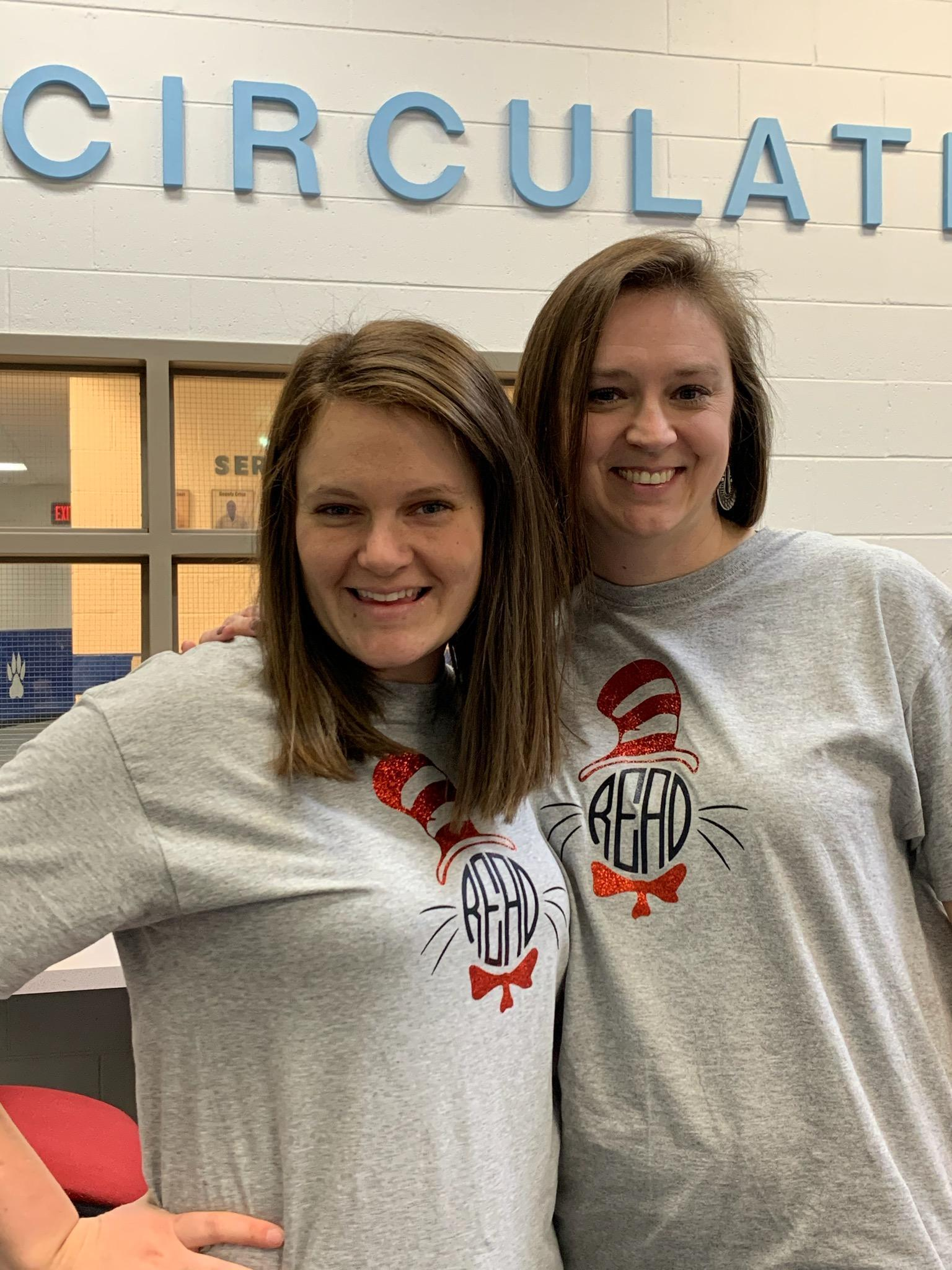 We love our new shirts!
