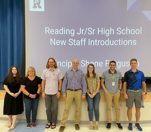 Jr/Sr High Staff photo