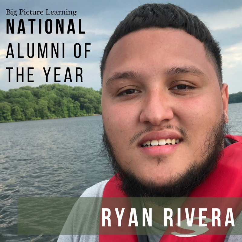 Ryan Rivera selected as National Alumnus of the Year!