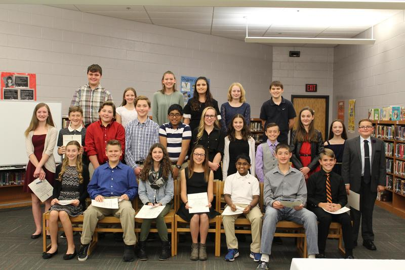 NJHS Inductees Featured Photo