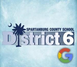 D6 Logo with Google Logo