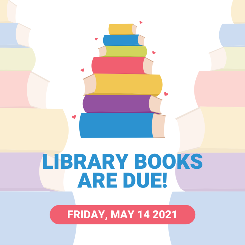 Library Books are Due!! Featured Photo