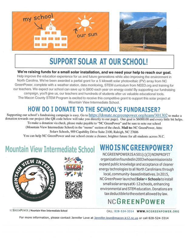 Mountain View Intermediate School Solar Project - Fully Funded! Featured Photo
