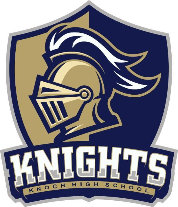 school logo -  knight with shield
