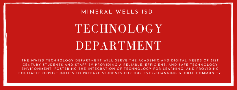 Technology Department Mission Statement