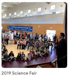 Clips and pics of of our 2019 Science Fair Thumbnail Image