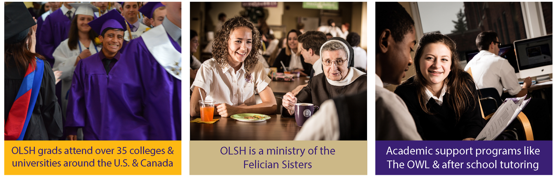 Did you know? OLSH is a ministry of the Felician Sisters