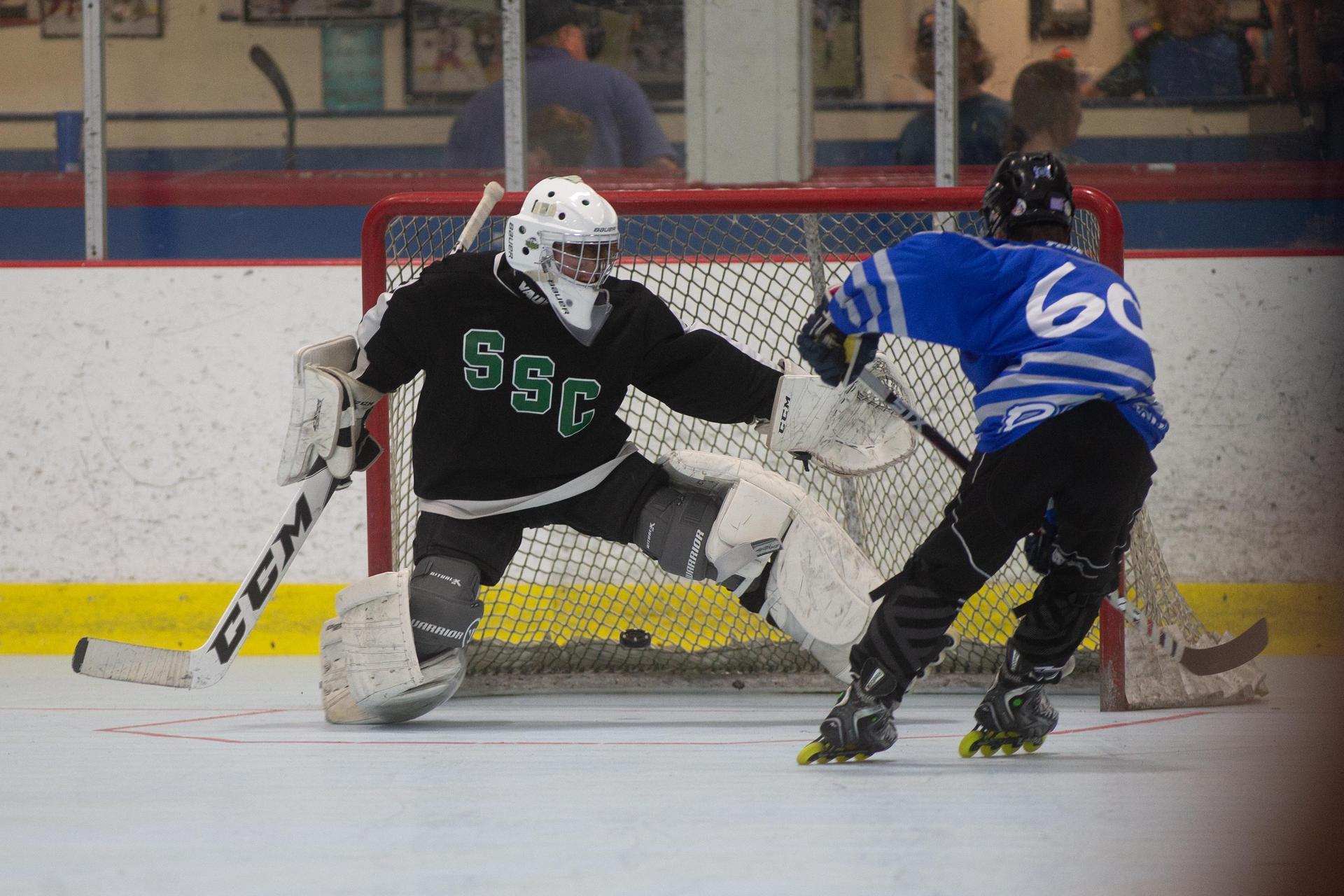 St. Mary's Roller Hockey Goalie