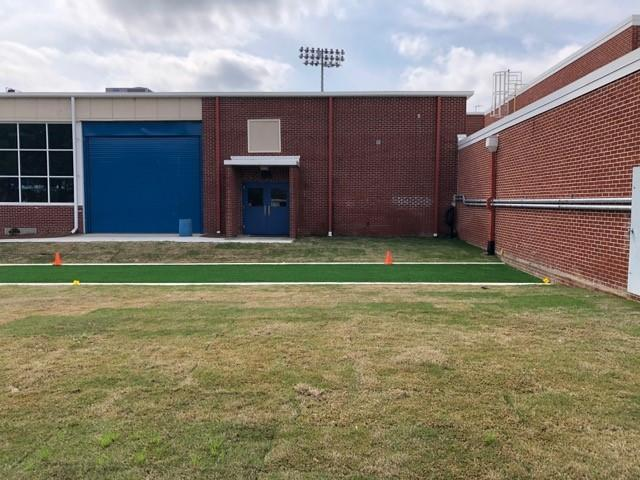 Airport High School Outdoor Fitness Training Area
