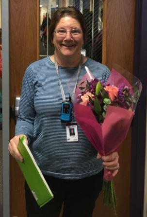 kathy larsen classified employee of the year