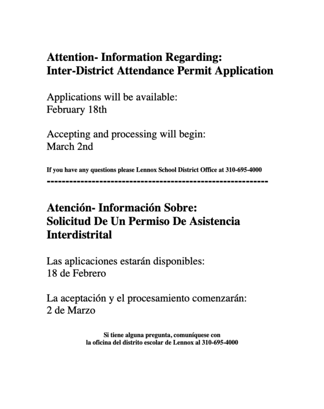 permit information notification