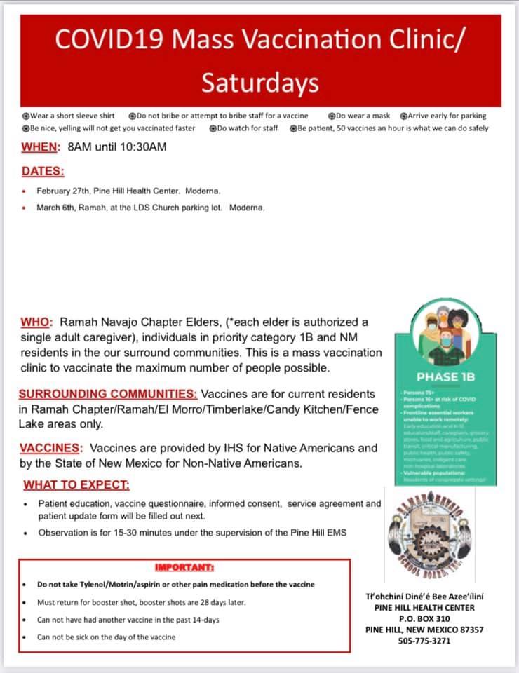 Ramah Vaccine Event