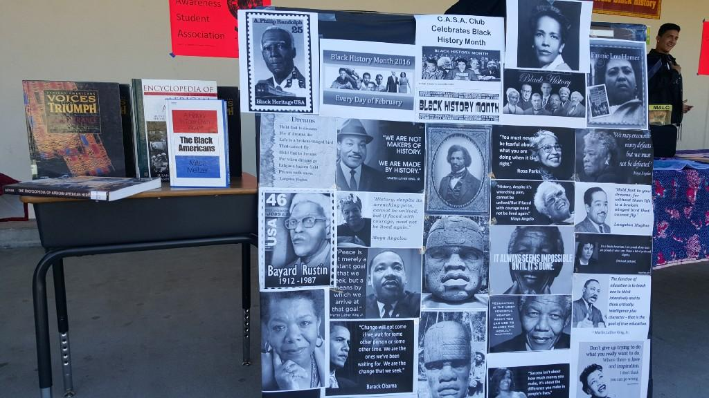 Casa Club poster on Black History Month