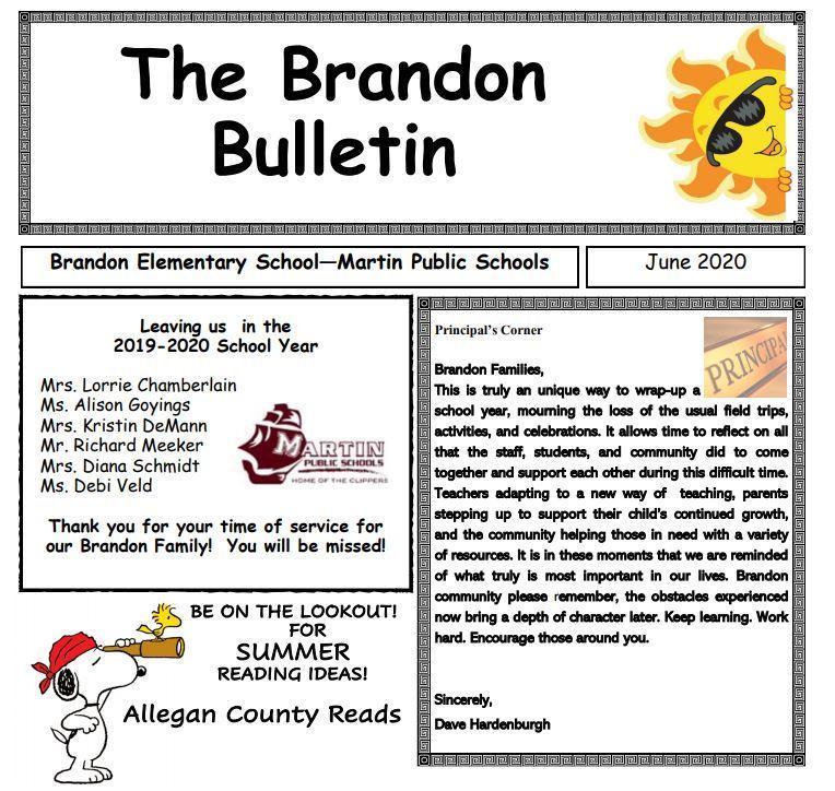 brandon bulletin front page