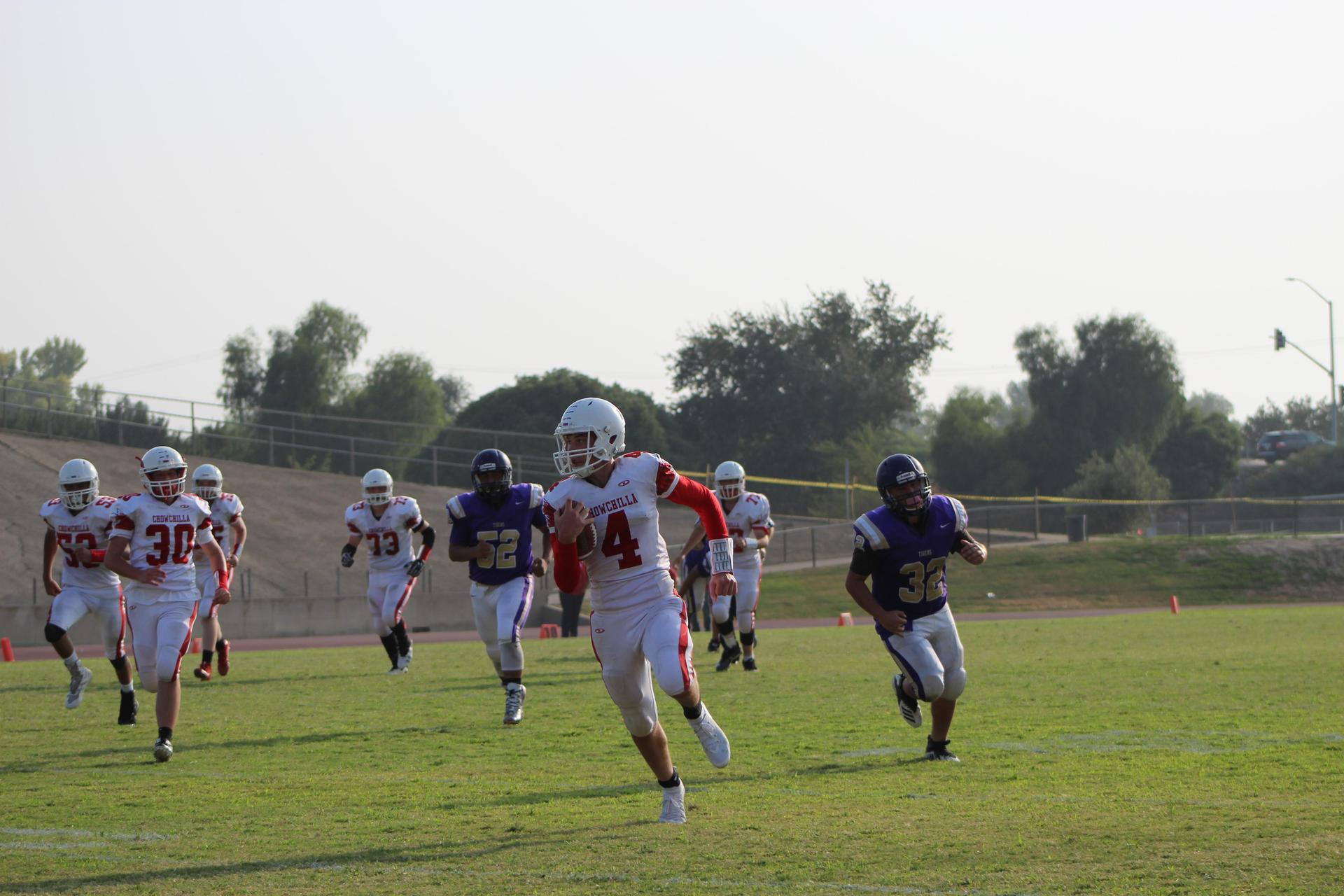 JV Football Players at Lemoore