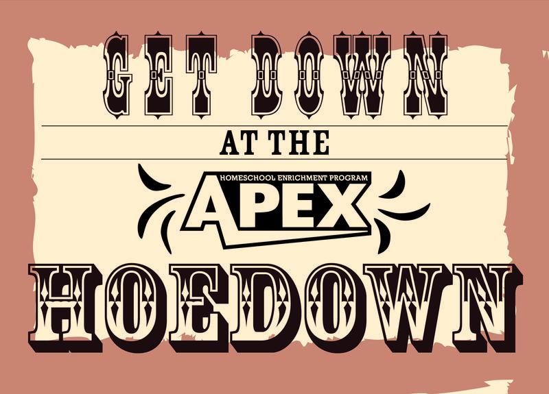 APEX Hoedown poster