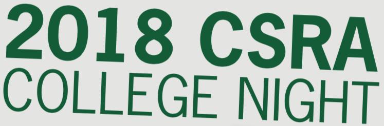 2018 CSRA College Night