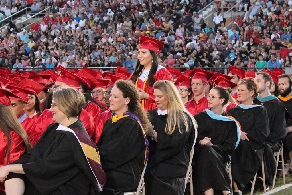 2018 victoria east graduation ceremony