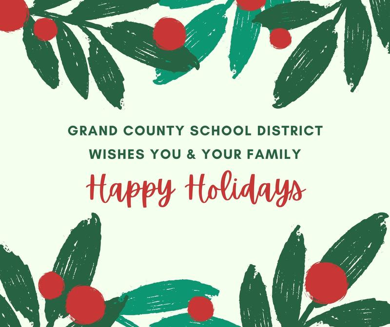 Happy Holidays from GCSD! Featured Photo